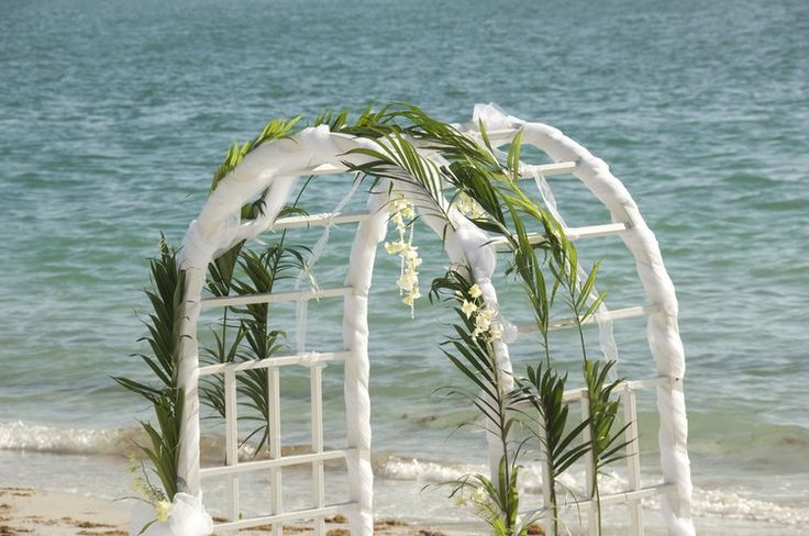 Beach Wedding Arch Ideas: 1000+ Ideas About Wedding Arch Decorations On Pinterest