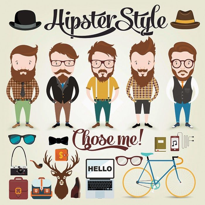 Format : Eps  Size : 0.8 Mb  Author : dryopus   Once you download Hipster Character Illustration ...