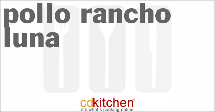 Pollo Rancho Luna - roast chicken, oven version