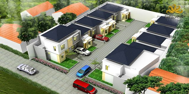 3d Site Plan Puri Cempaka House Styles Site Plan House