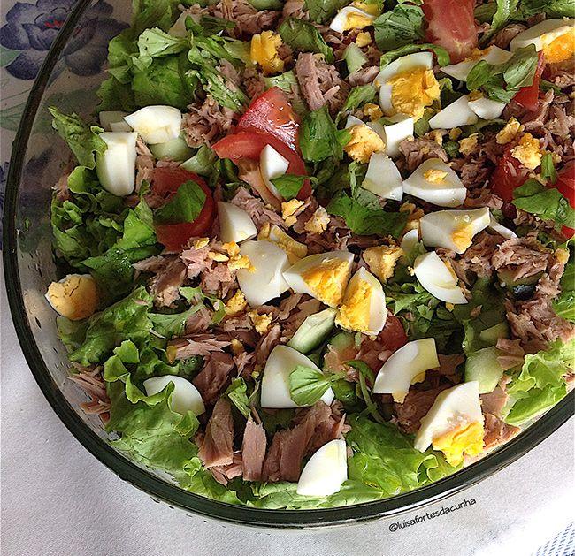 2 saladas de verão por Luísa Fortes da Cunha