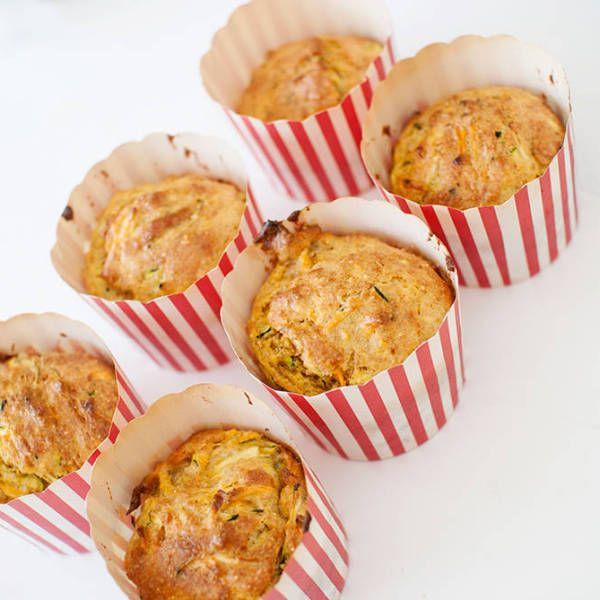 Muffins med squash og søtpotet (matmuffins)