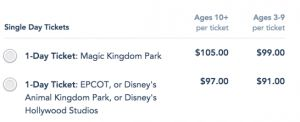 Tickets to the Magic Kingdom over $100, How to Beat that Price!