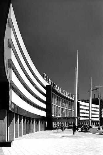 Sybold van Ravesteyn, centraal station Rotterdam 1954-1957