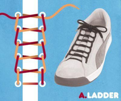 15 способов завязывания шнурков на кроссовках - статья на портале Krasland.ru - Журнал