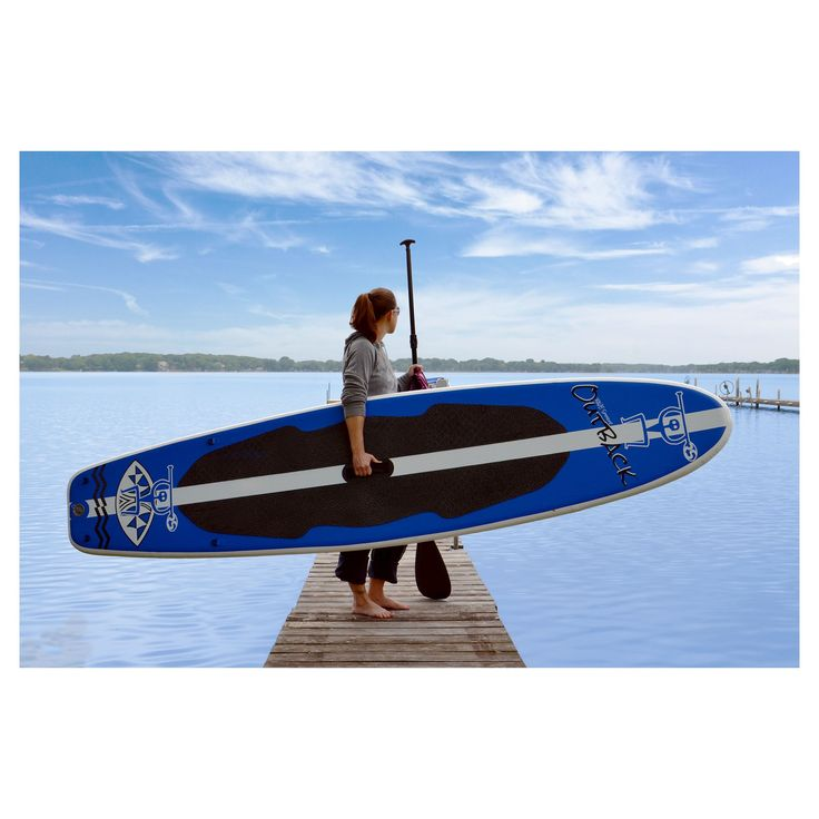 Rave Sports activities Outback Inflatable Stand Up Paddle Board