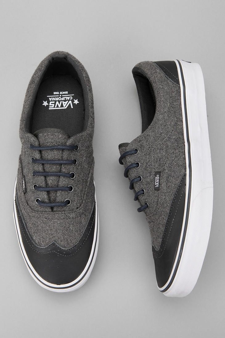 "Vans- an example of a ""nice"" skater shoe. It's clean looking and can go from casual to moderate dressy very quickly with what you pair it with."