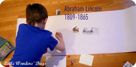 Timeline of Abraham Lincoln
