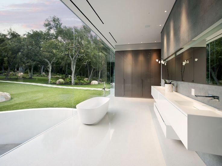 The Stunning 'Glass Pavilion' by Architect Steve Hermann.