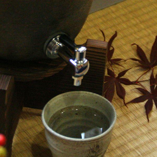 信楽焼・焼酎サーバー 「金彩釉」 2.2リットル