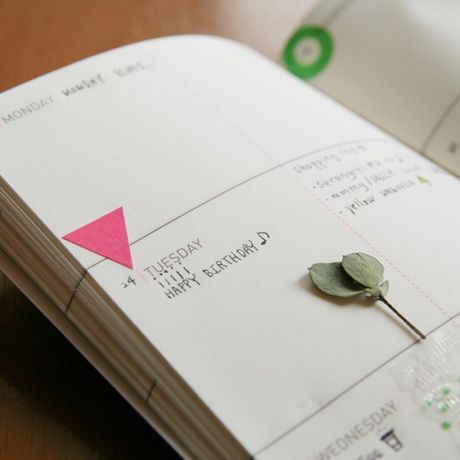 Mini planner from Poketo. #write #plan #notebook #book #gifts $10