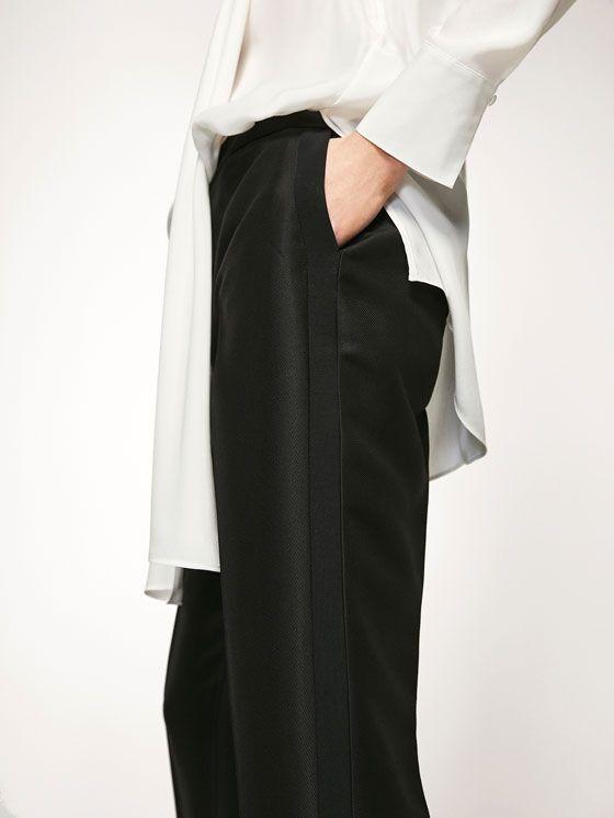 Pantalones de mujer de primavera 2017 | Massimo Dutti