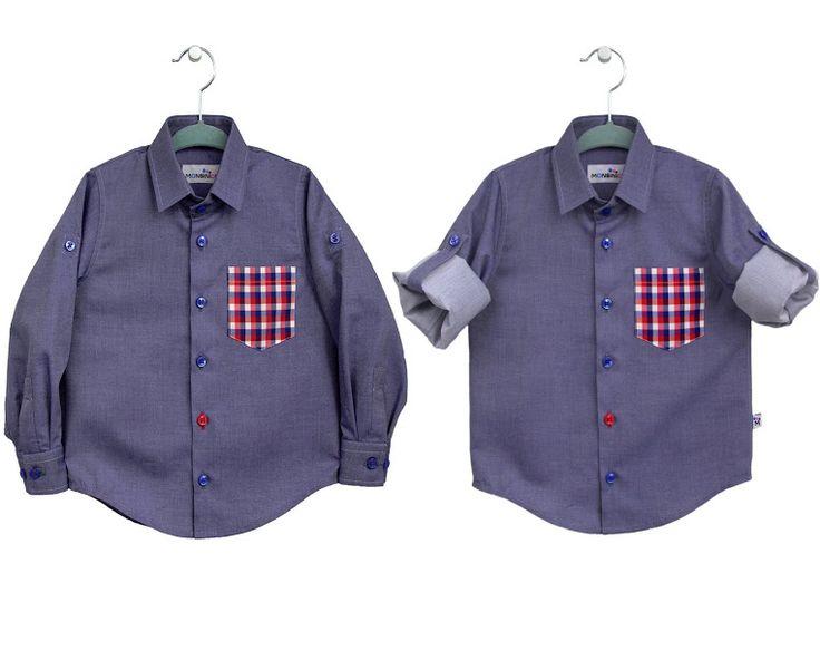Monsinior shirt for kids.Koszula dziecięca