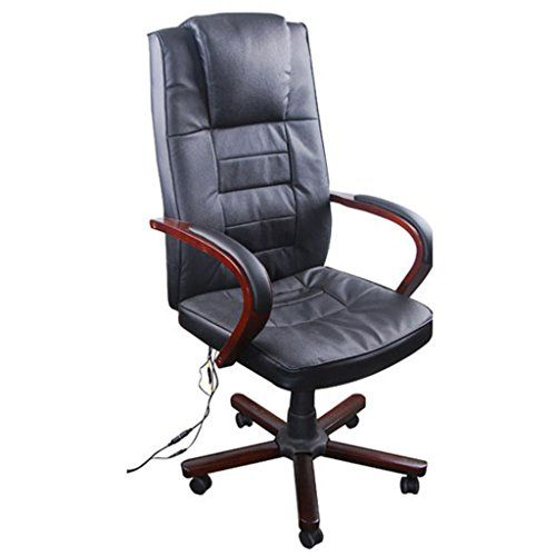 This luxury office massage chair featuring a contemporary style with adjustable height will