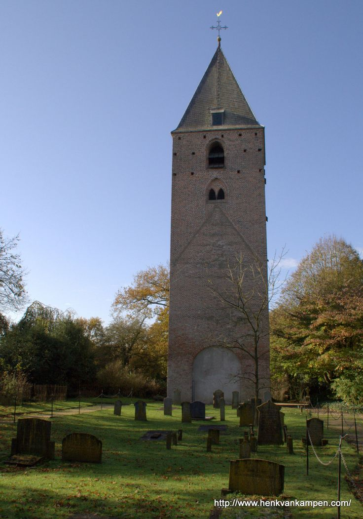 Former church tower and old graveyard of Oud Leusden