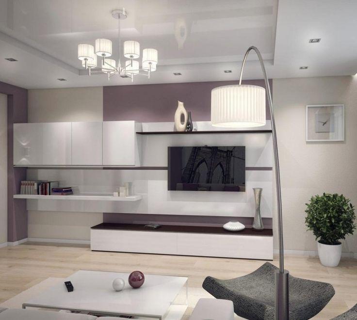 wohnwand modern gallery of wohnwand modern wei auf wohnzimmer ideen in unternehmen mit best. Black Bedroom Furniture Sets. Home Design Ideas