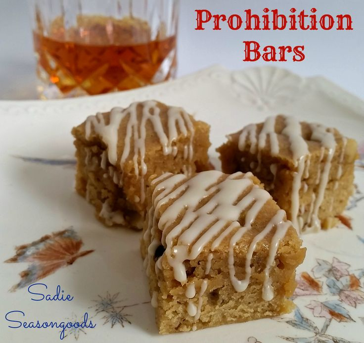 Prohibition Bars: Boozy Blondies. A basic blondie recipe gets a saucy facelift with the help of Cognac or Bourbon- your choice! These have been a massive hit at every adult party I've ever brought them to...so you know I'll be making these time and time again. #SadieSeasongoods