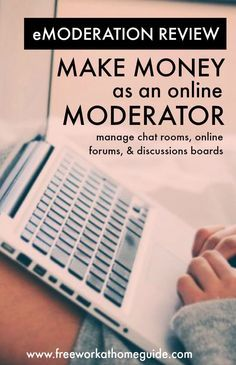eModeration: Make Money from Home as an Online Moderator ** Learn even more at the image link