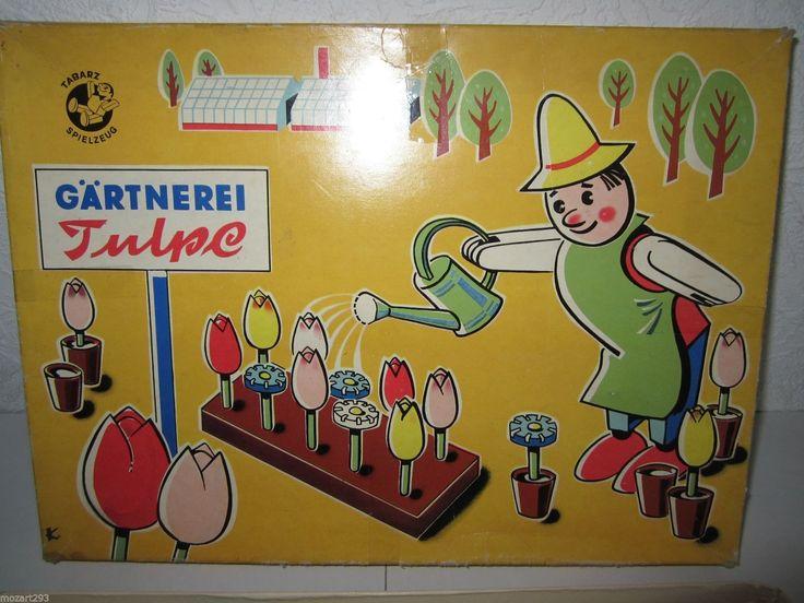DDR Spielzeug Tabarz Baukasten  u0026quot; G u00e4rtnerei Tulpe  u0026quot;   eBay   ddr   Pinterest   eBay