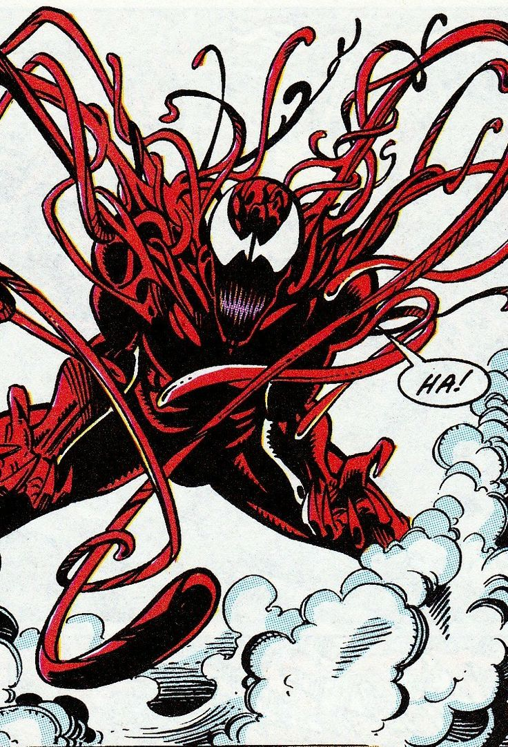 Carnage, my second favorite comic character ever.