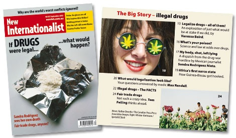 If drugs were legal, what would happen? (September 2012)