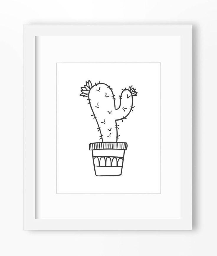 Cactus Art, Cactus Print, Cactus Wall Art, Cactus Wall Print, Cactus Drawing, Cactus Illustration, Cartoon Cactus, Potted Cactus, Cute de Abodica en Etsy https://www.etsy.com/es/listing/234711777/cactus-art-cactus-print-cactus-wall-art                                                                                                                                                                                 Más