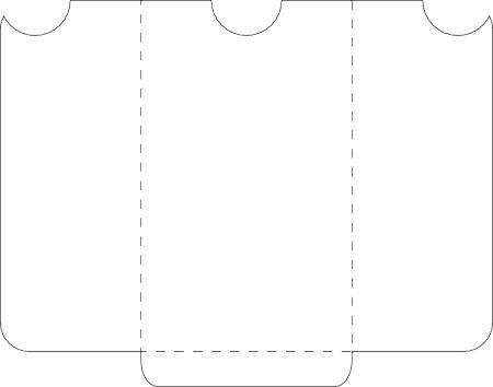 free SVG file for a 3×5″ pocket