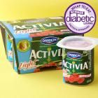 "Best Flavored Yogurt Winner: Dannon Activia Light Nonfat Yogurt, Raspberry (activia.us.com)  Why it won: This super creamy, fruity yogurt provides a good hit of sweetness in an easy-to-tote, portion-smart carton. Plus, each serving provides 12 percent of your daily fiber and 15 percent of your daily calcium needs.  Taste-tester's quote: ""This tastes the most like fresh fruit and has a little tang.""  Nutrition facts per 4-ounce carton:  70 cal. 13 g carb. 0 g fat 5 g pro. 75 mg sodium 3 g…"