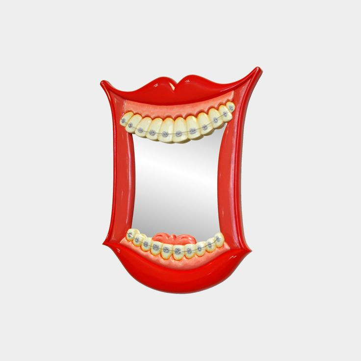 Wonderful dentist art wall mirror to fascinate your guests while they wait..?
