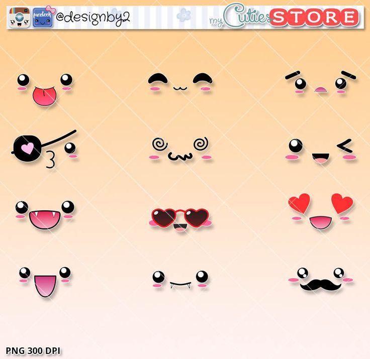 25 best ideas about kawaii faces on pinterest kawaii diy kawaii drawings and kawaii - Emoticone kawaii ...