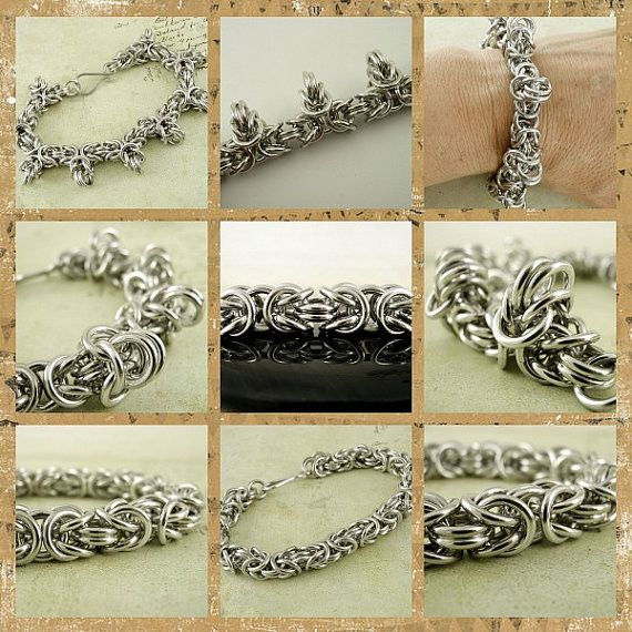 1798 best Chainmaille, Chainmail, Chain Maille, Chain Mail images on ...