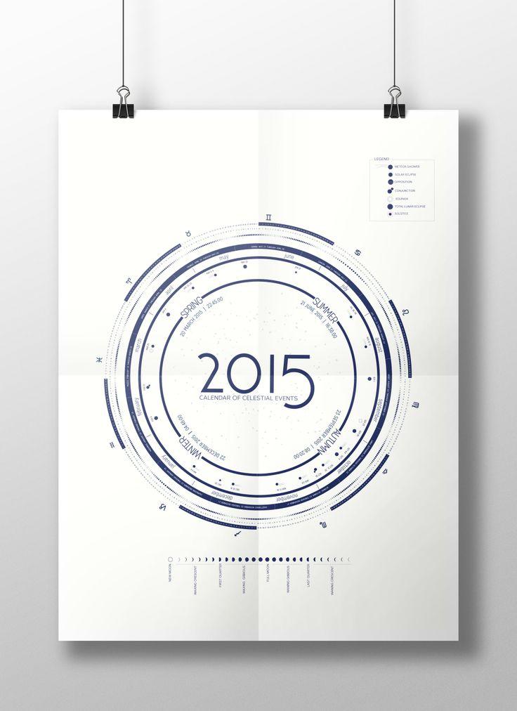 2015 Celestial Calendar by Beck Mulkey