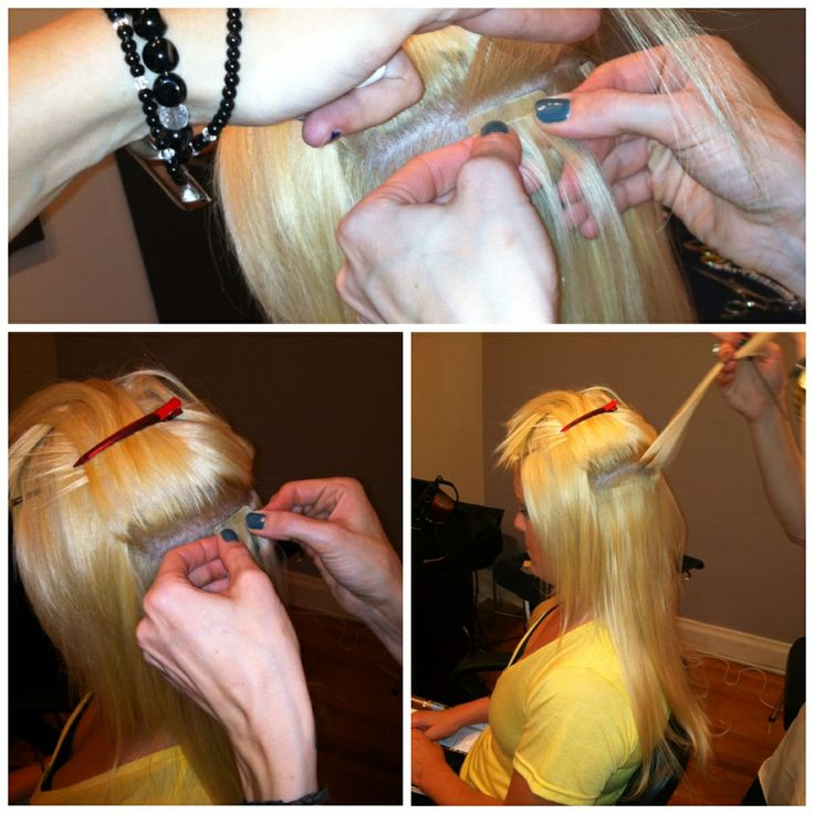 Hot Heads Tape In Hair Extensions