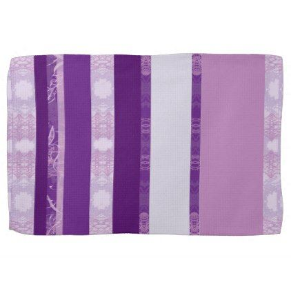 purple towel - kitchen gifts diy ideas decor special unique individual customized