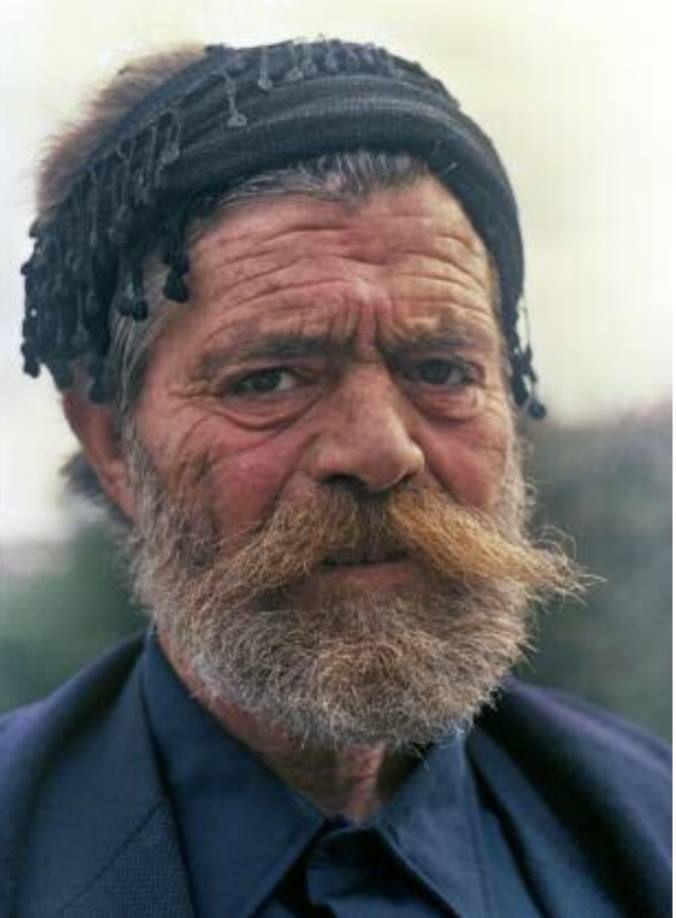 Γιάννης Βοτζάκης. Σφακιανά πορτρέτα βγαλμένα απο τον Νικο Ψιλάκη το 1986 στα εγκαίνια της γέφυρας της Αράδαινας.