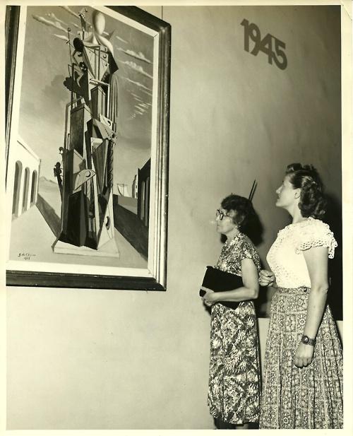 Giorgio de Chirico painting, 1945