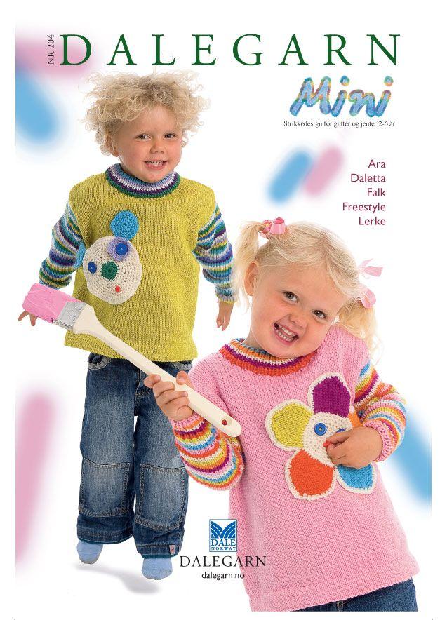 DG204 Mini gutt og jente 2-6 år – Dale Garn