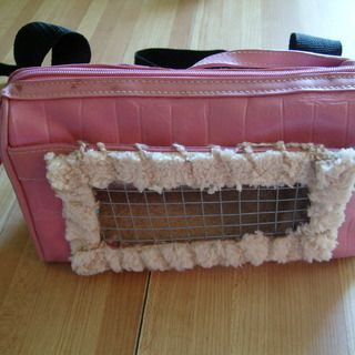 This gives new meaning to the word, Ratpack . . . DIY Recycled Small Pet Carrier Backpack http://www.instructables.com/id/DIY-Recycled-Small-Pet-Backpack/