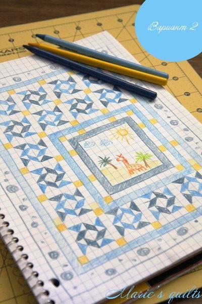 Marie's quilts: Часть 1. Эскизы. Расчеты. Подготовка инструментов и материалов.
