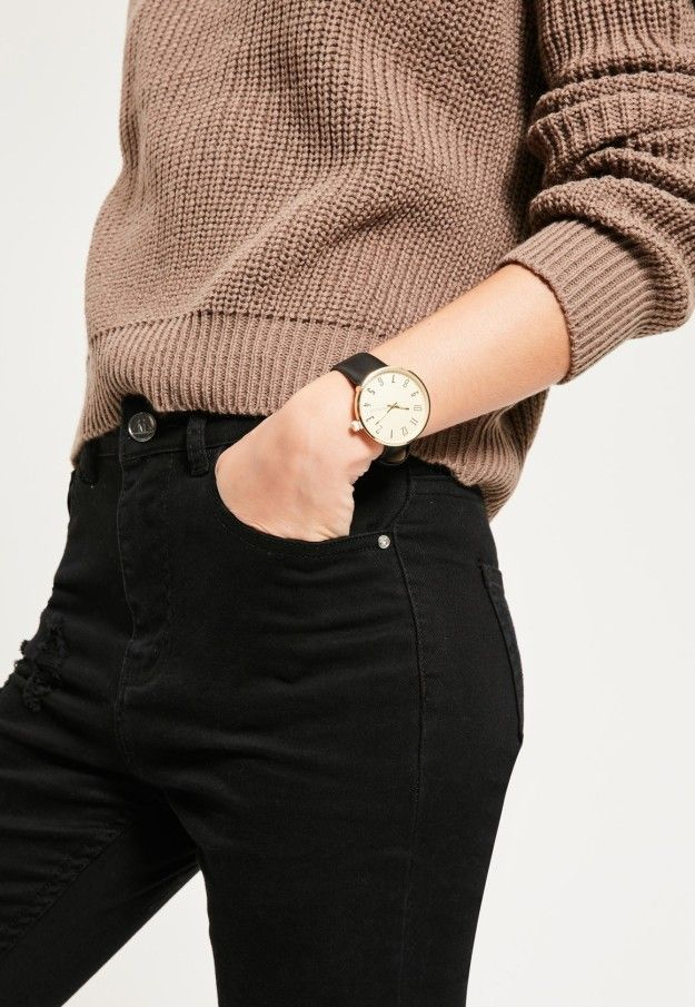 A sleek large-face watch for an instant style update.