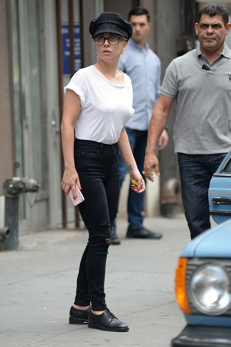 Lady GaGa  Leaving a recording studio in NYC (Aug. 5 2016)