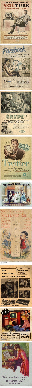 Classic Advertisements of Modern Technologies