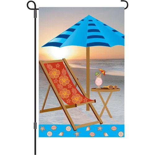 12 In Flag - Sunrise Beach