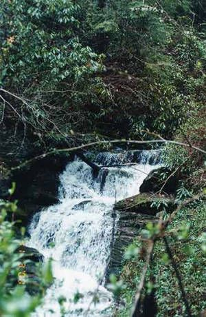 #Waterfalls are a relaxing part of nature in the #SmokyMountains