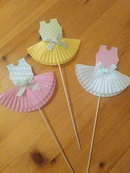 39 Ideen für Babyparty-Ideen für Mädchen-Ballerina-Einladungen