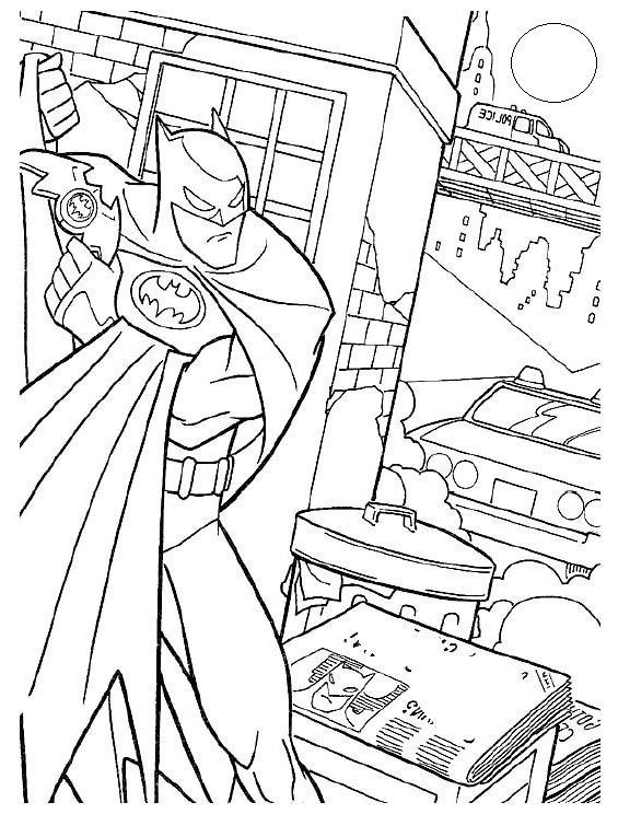 Batman Coloring Pages And Sheets Find Your Favorite Cartoon Picures In The Library
