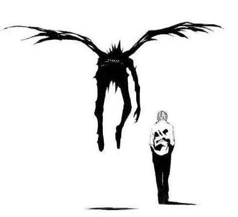 Death Note. Pensé que no, pero sí, me gustó.