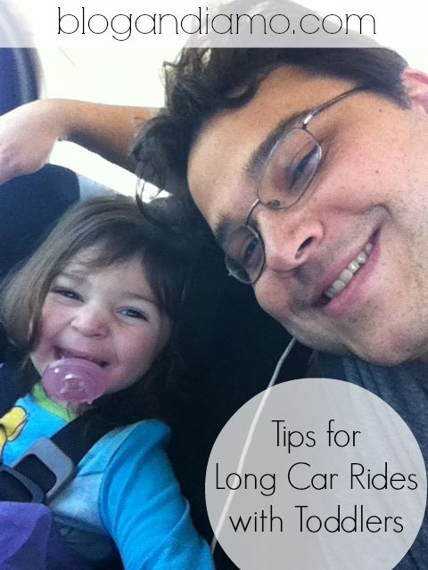 ANDIAMO: car rides with kids. a list of tips.