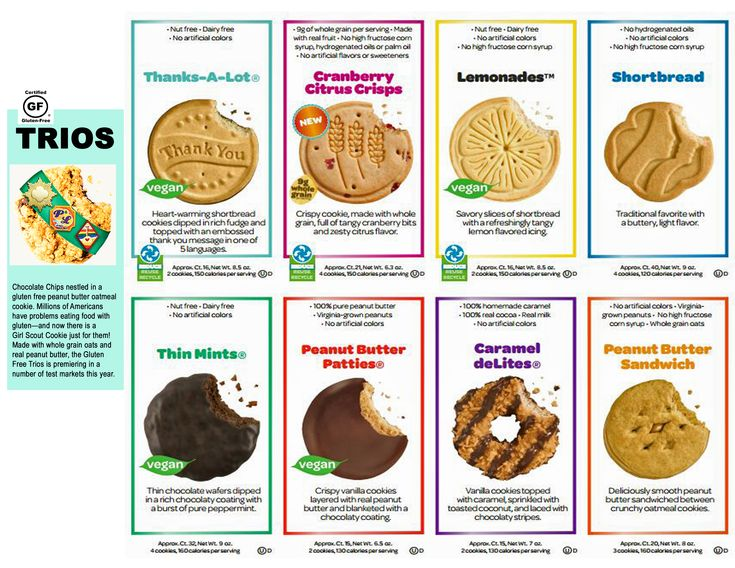 types of girl scout cookies with price girl scout cookie