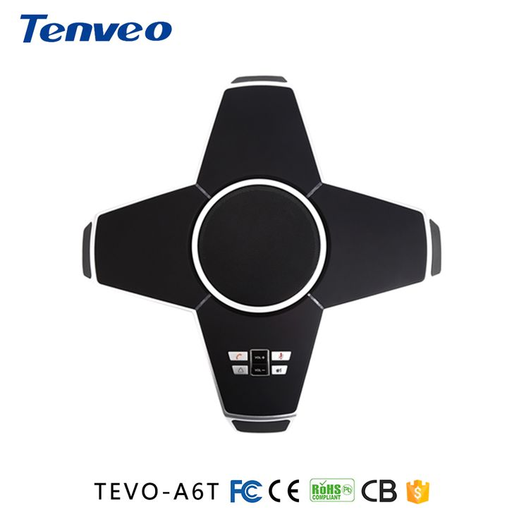TEVO-A6-T  Omni-directional microphone with 2 Expansion microphones for video conference